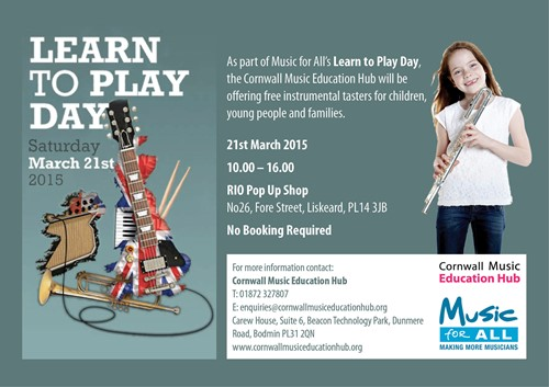 learn to play poster