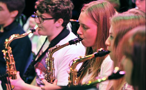 Carrick Winds Saxophonists