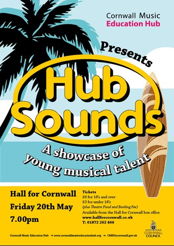 Hub Sounds Concert Flyer