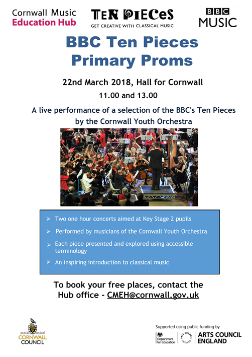 Primary Proms Flyer