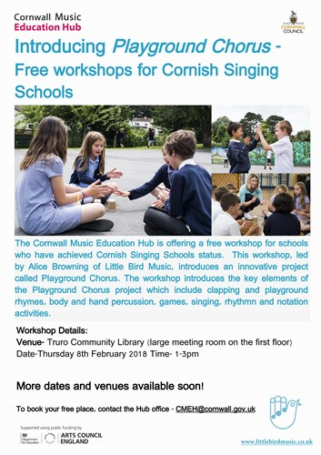 Playground Chorus Workshop-Truro