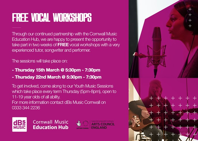 Free vocal workshop