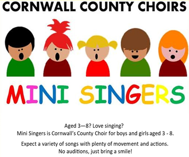Mini Singers Flyer with logo