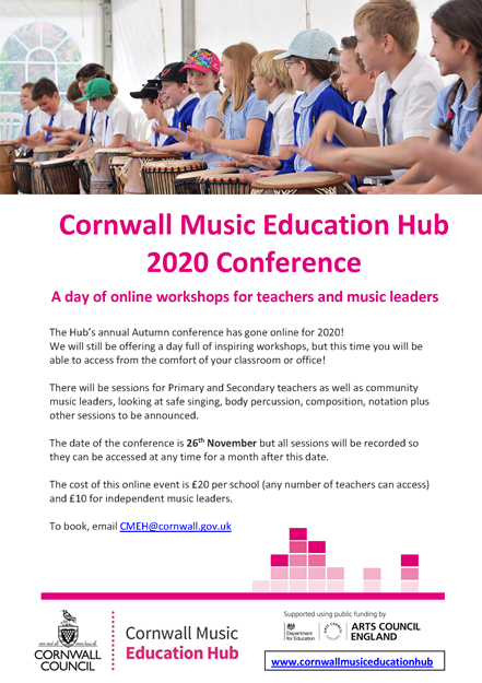 Flyer for the CMEH annual Autumn conference on 26th November 2020
